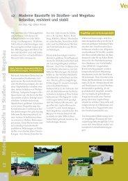 Verkehrsinfrastruktur und Verkehrstechnologie