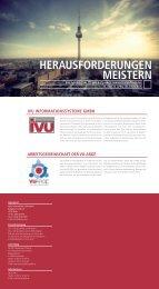 Einladung und Agenda - IVU Informationssysteme GmbH