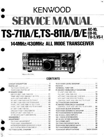 Kenwood ts 50s Manual Download