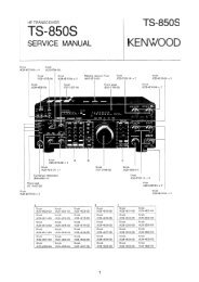 Kenwood TS-850S service manual - IW2NMX