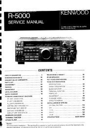 Kenwood R-5000 - Service manual - IW2NMX