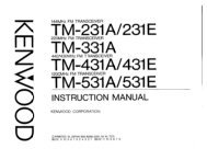 Kenwood - TM-231/331/431/531 user manual - IW2NMX