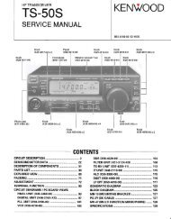 Kenwood - TS-50S Service manual - IW2NMX