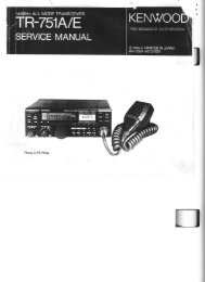 Kenwood - TR-751 Service manual - IW2NMX