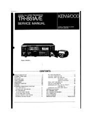 Kenwood TR-851A/E Service manual - IW2NMX