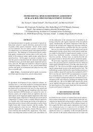 Instrumental Speech Distortion Assessment of Black Box ... - iwaenc