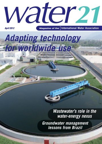 Water21 April 2012 - IWA Publishing