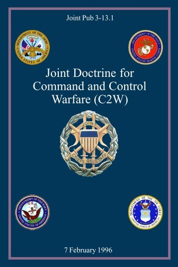 JP 3_13_1 Joint Doctrine Command and Control Warfare (C2W)