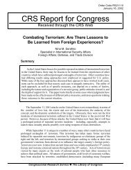 Are There Lessons to Be Learned from Foreign Experiences?