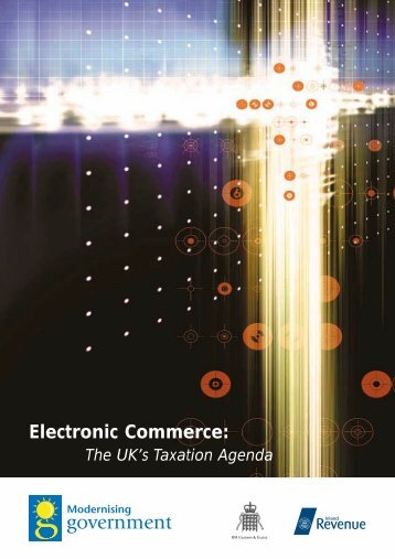 Electronic Commerce: The UK's Taxation Agenda