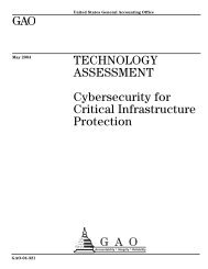 Cybersecurity for Critical Infrastructure Protection - IWS - The ...