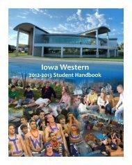 Student Handbook - Iowa Western Community College