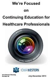 Health Professions Catalog - Iowa Western Community College