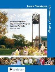 Systems Portfolio - Iowa Western Community College