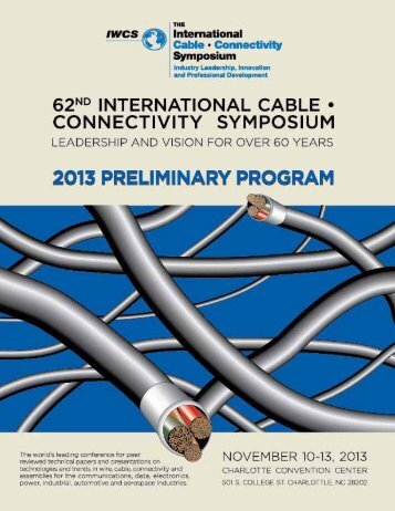 13 Preliminary Program - IWCS
