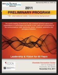 Preliminary Program2011:Layout 1.qxd - IWCS