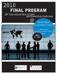 technical symposium - IWCS
