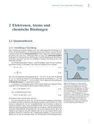 2 Elektronen, Atome und chemische Bindungen