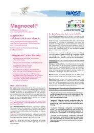 Datenblatt Magnocell - iWEST