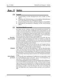 Kap. 15 Stähle - IWF
