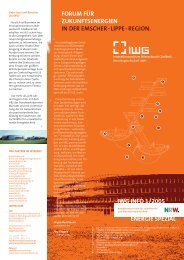 IWG Info 1/2005 - Innovationszentrum Wiesenbusch Gladbeck