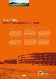 60 Jahre NRW - Innovationszentrum Wiesenbusch Gladbeck