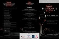 Flyer Symposium - International Wine Institute