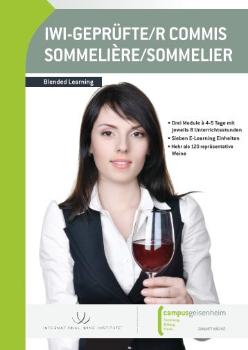 Commis Sommelier - International Wine Institute