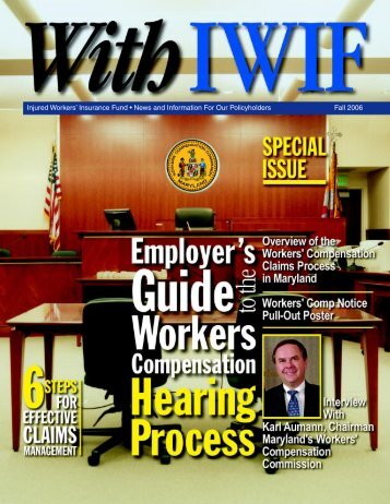 Employer's Guide to the Workers Comp Hearing Process in Md.
