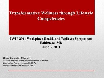 Transformative Wellness through Lifestyle Competencies