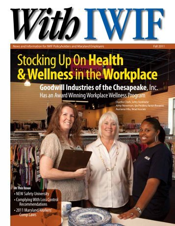 Stocking Up OnHealth & Wellness in theWorkplace - Maryland State ...