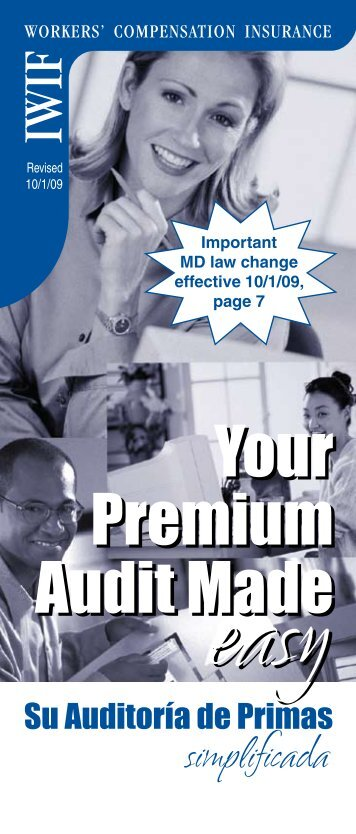 Your Premium Audit Made Your Premium Audit Made