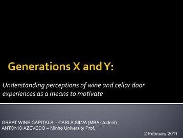 Download Speaker Notes - International Wine Tourism Conference