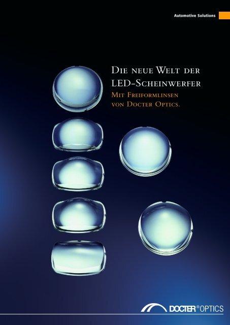 Die neue Welt der Led-Scheinwerfer / Broschüre - Docter® Optics