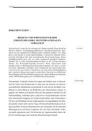 dokumentation bildung und wirtschaftlicher strukturwandel im ... - IW