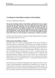 Verteilung des Immobilienvermögens in Deutschland - Institut der ...