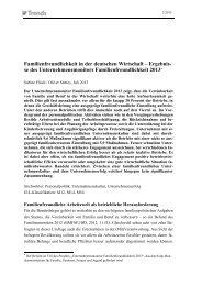 Unternehmensmonitor Familienfreundlichkeit 2013 - Institut der ...
