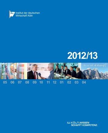 Neues Etikett, neuer Inhalt - Institut der deutschen Wirtschaft