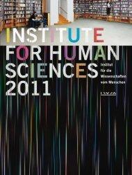 Institut für die Wissenschaften vom Menschen - IWM