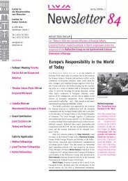 Europe's Responsibility in the World of Today - IWM