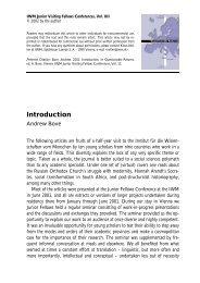 Questionable Returns: Introduction - IWM