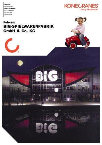 Referenz BIG-SPIELWARENFABRIK GmbH & Co. KG - Konecranes