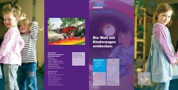 Die Welt mit Kinderaugen entdecken. - Diakonieverein Güstrow e.v.