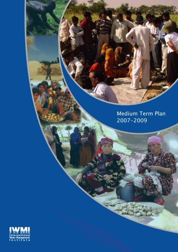 Medium Term Plan 2007-2009 - International Water Management ...