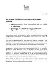 Oekonsult-Umfrage nach Gaskrise: Ölheizung ... - IWO-Österreich