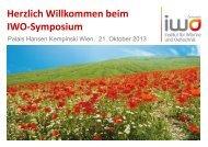 Präsentationen(pdf) - IWO-Österreich