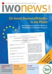 EU nimmt Brennstoffhändler in die Pflicht - IWO-Österreich