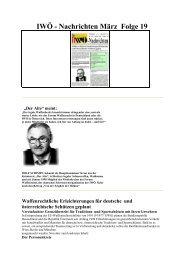 IWÖ - Nachrichten März Folge 19 - Interessengemeinschaft liberales ...
