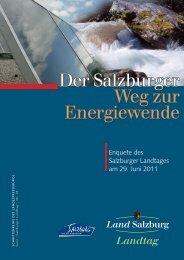 Der Salzburger Weg zur Energiewende - Land Salzburg