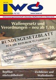 IWÖ - Interessengemeinschaft liberales Waffenrecht in Österreich